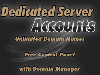 Affordably priced dedicated hosting servers accounts